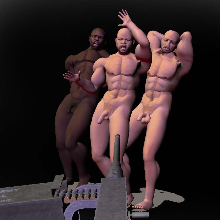 nude prisoners executed